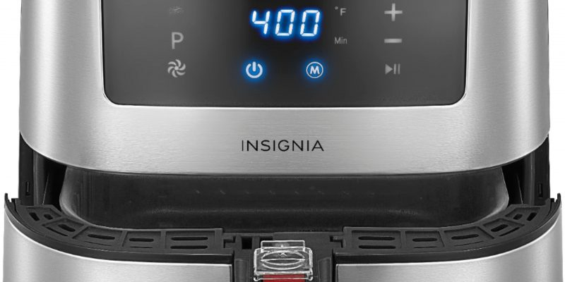 Insignia™ Insignia™ - 5-qt. Digital Air Fryer - Stainless Steel
