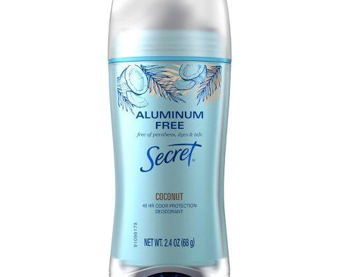 $1.74 Secret Aluminum Free Deodorant