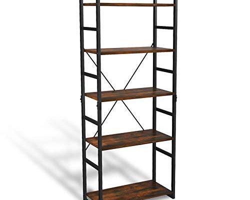ASTARTH 5 Tier Bookshelf