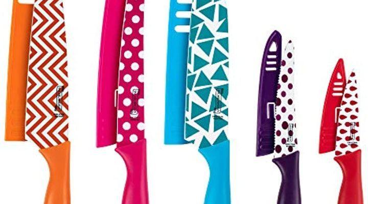 MICHELANGELO Kitchen Knife Set 10 Piece $12.98! Save 80%