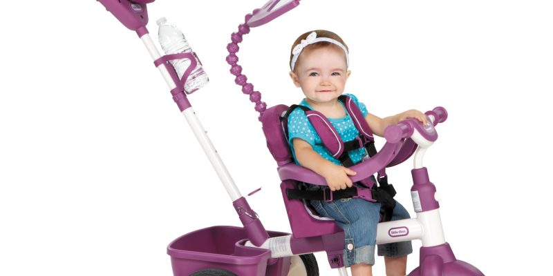 Little Tikes 4-in-1 Sports Edition Trike (Pink/White)