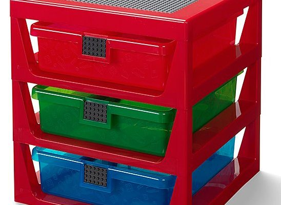 Red LEGO® Rack System