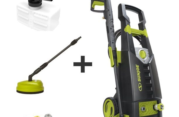Sun Joe Electric Pressure Washer With Foam Cannon, And Patio Cleaning Attachment $79.00