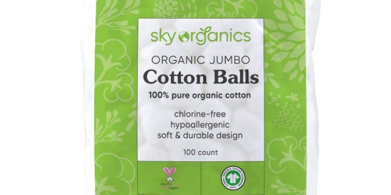 FREE Sky Organics Cotton Balls at Walmart (Ibotta)